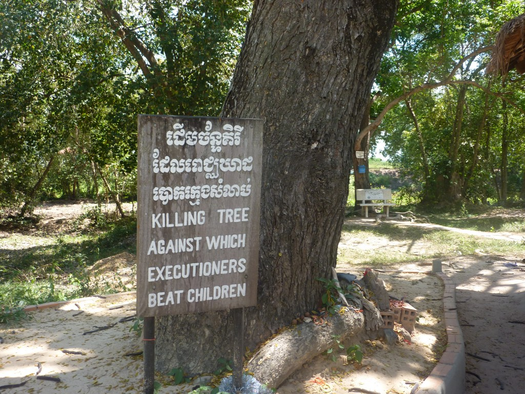 choeung ek the killing fields phnom penn cambodia