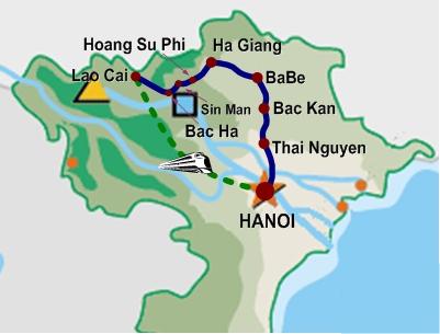 tonkin alpes vietnam mtb