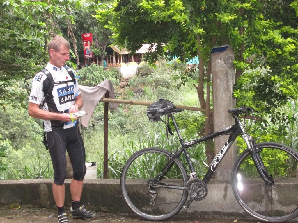Start fra Ella på 5. cykeldag.