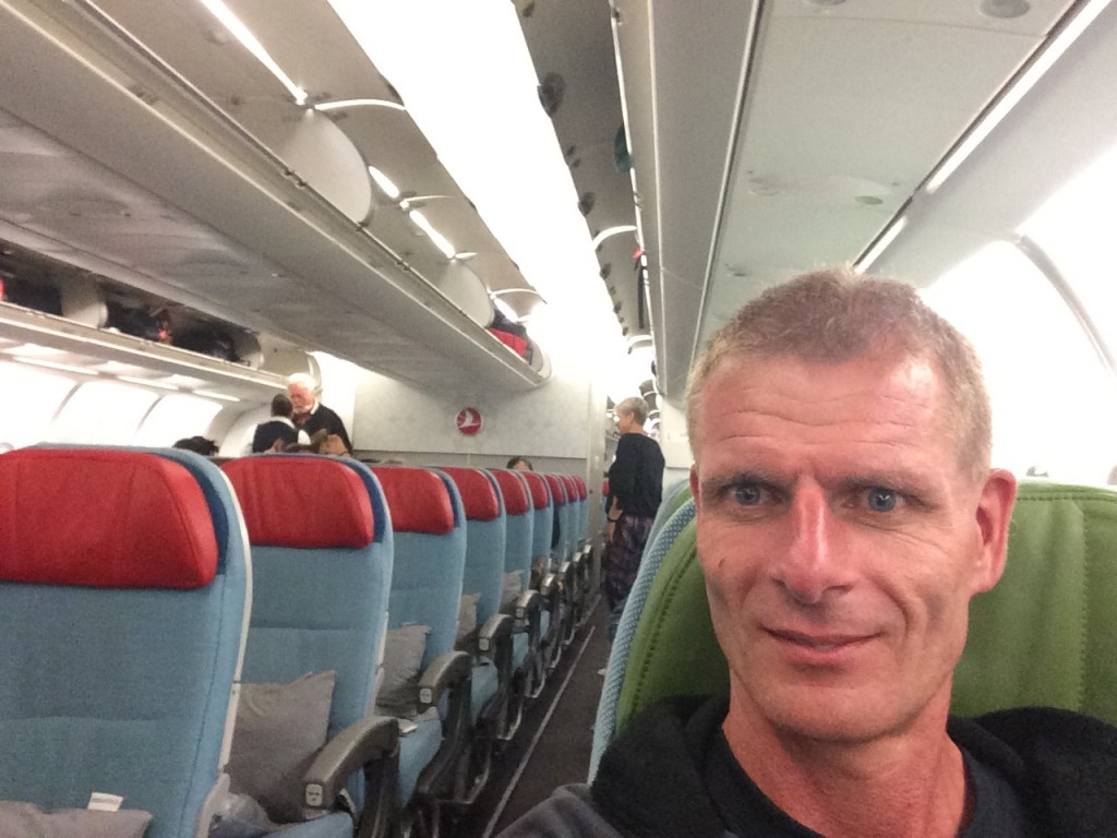 Flyet fra Colombo var nært tomt, men på Maldiverne blev fyldt med især russiske turister.