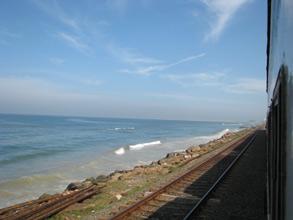 Kystbanen kunne man vist godt kalde togruten Galle til Colombo.